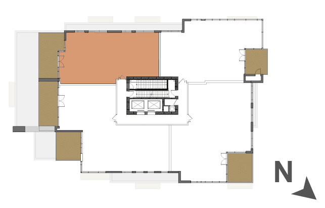 Map of the unit location on its floor