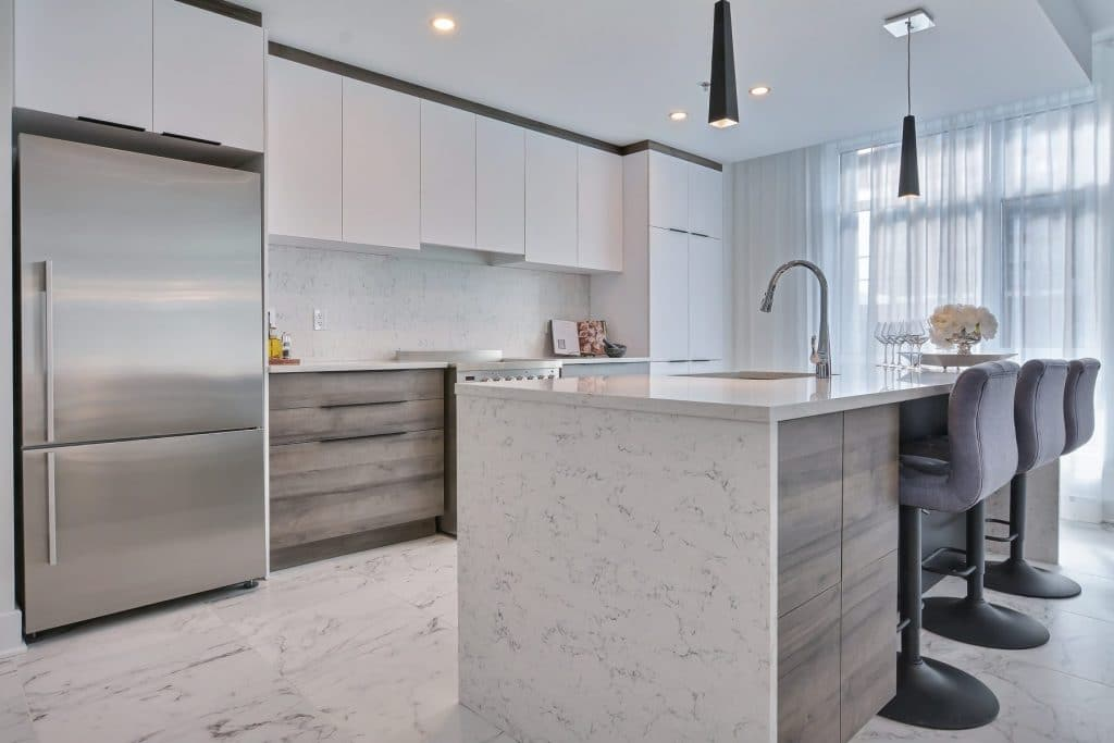 kitchen condos VIVA at Laval