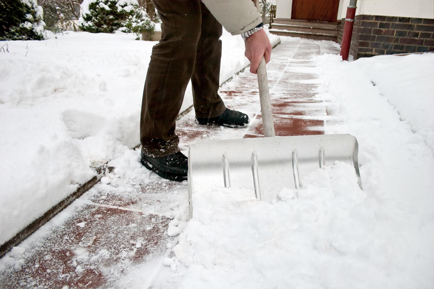 snow removal winter